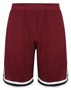 Bigdude Performance Shorts Burgundy