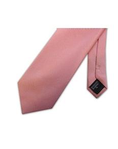 Knightsbridge Extra Long Micro Grid Tie Pink