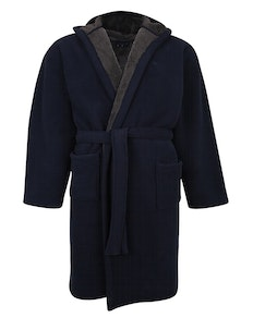 Espionage Hooded Gown Navy