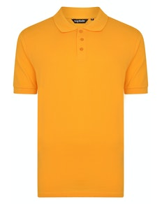 Bigdude Plain Polo Shirt Orange