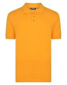Bigdude Plain Polo Shirt Orange