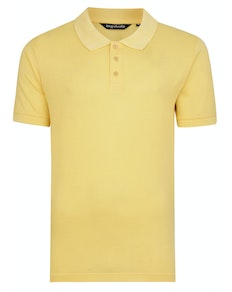 Bigdude Plain Polo Shirt Yellow