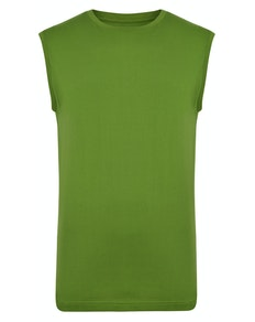 Bigdude Plain Sleeveless T-Shirt Desert Cactus