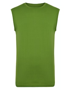 Bigdude Plain Sleeveless T-Shirt Desert Cactus Tall