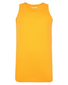 Bigdude Plain Vest Orange