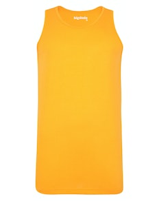 Bigdude Plain Vest Orange Tall