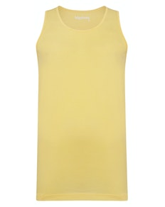 Bigdude Plain Vest Yellow