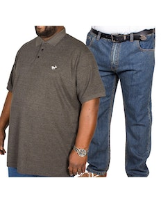 Bigdude Polo Shirt & Jeans Bundle 9
