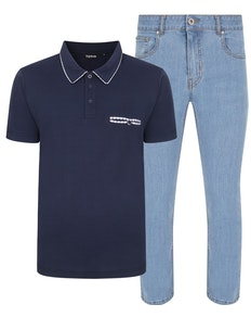 Bigdude Polo Shirt & Jeans Bundle 5