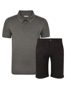 Bigdude Polo Shirt & Shorts Bundle 1