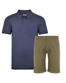 Bigdude Polo Shirt & Shorts Bundle 3
