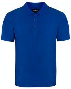 Bigdude Plain Polo Shirt Royal Blue