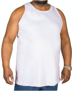 Bigdude Plain Vest Purple