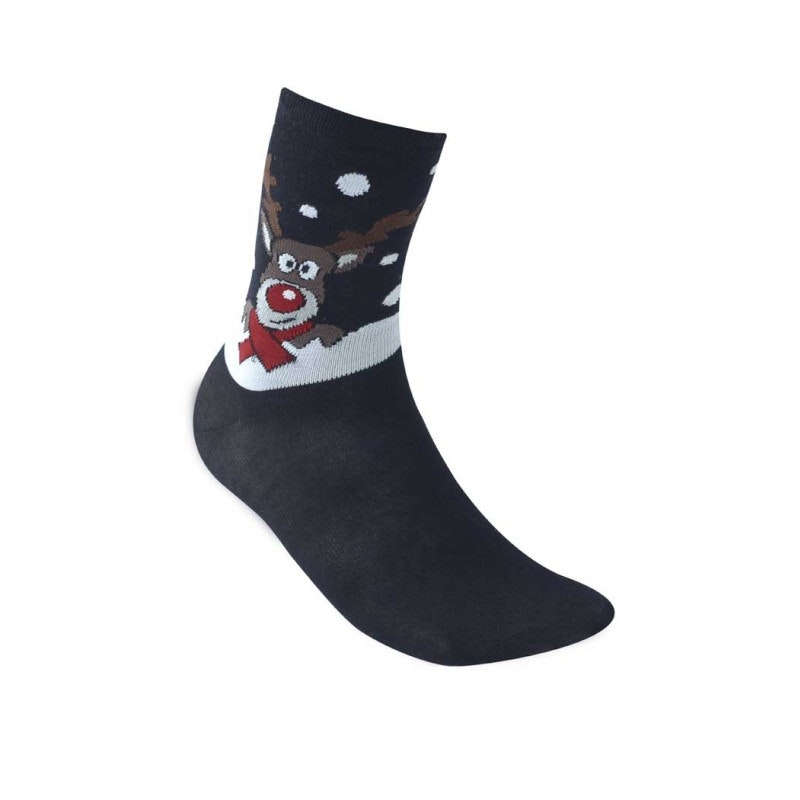 D555 Carols Christmas Socks - Reindeer