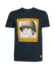 Replika U2 Tribute T-Shirt Black