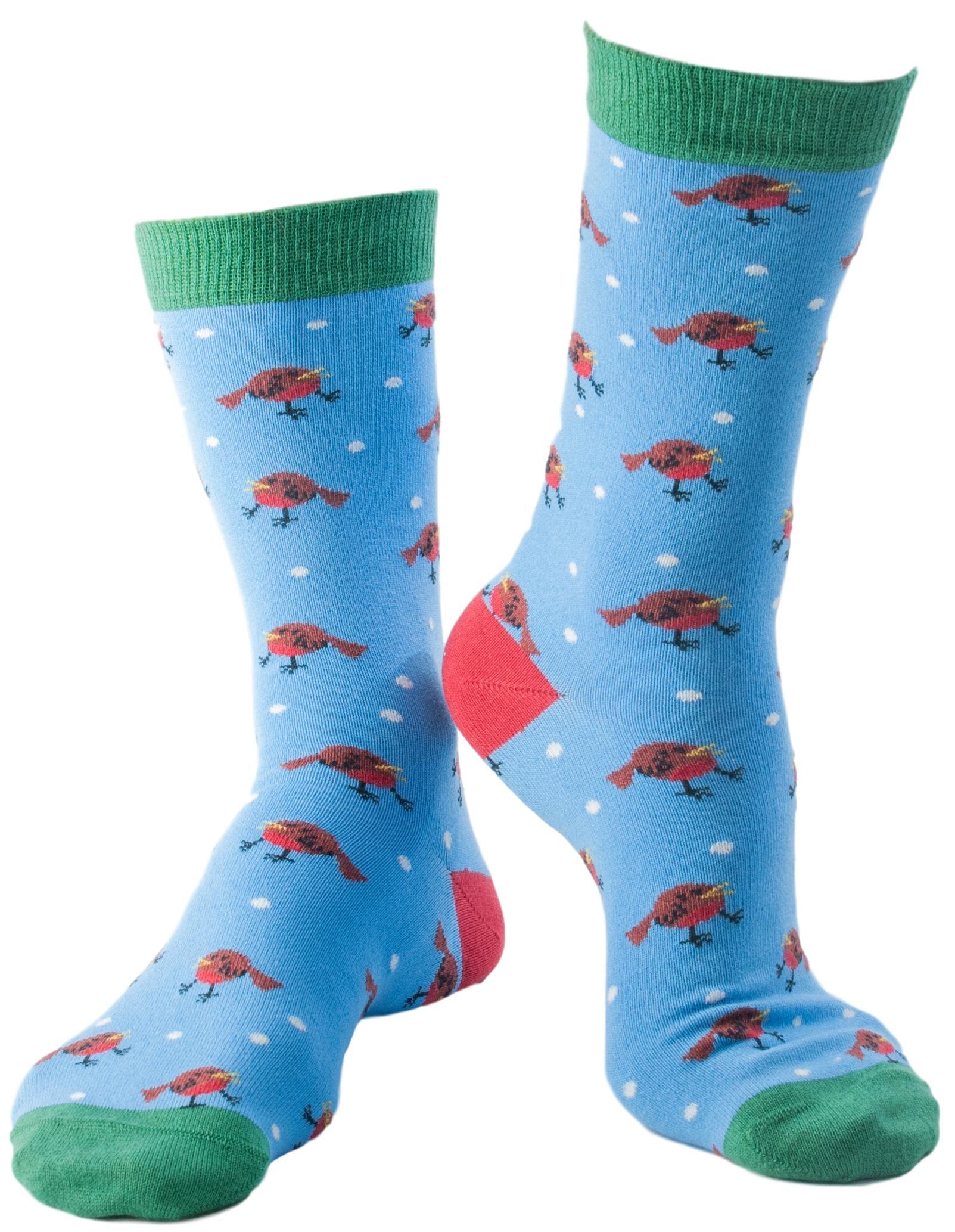 Doris & Dude Robin Socks