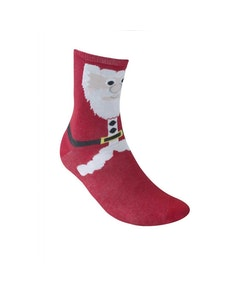 D555 Carols Christmas Socks - Santa