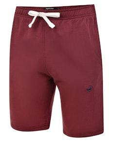 Bigdude Signature Jogger Shorts Burgundy