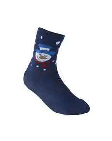 D555 Carols Christmas Socks - Snowman