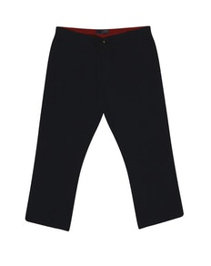 Ed Baxter Black Linen Trousers