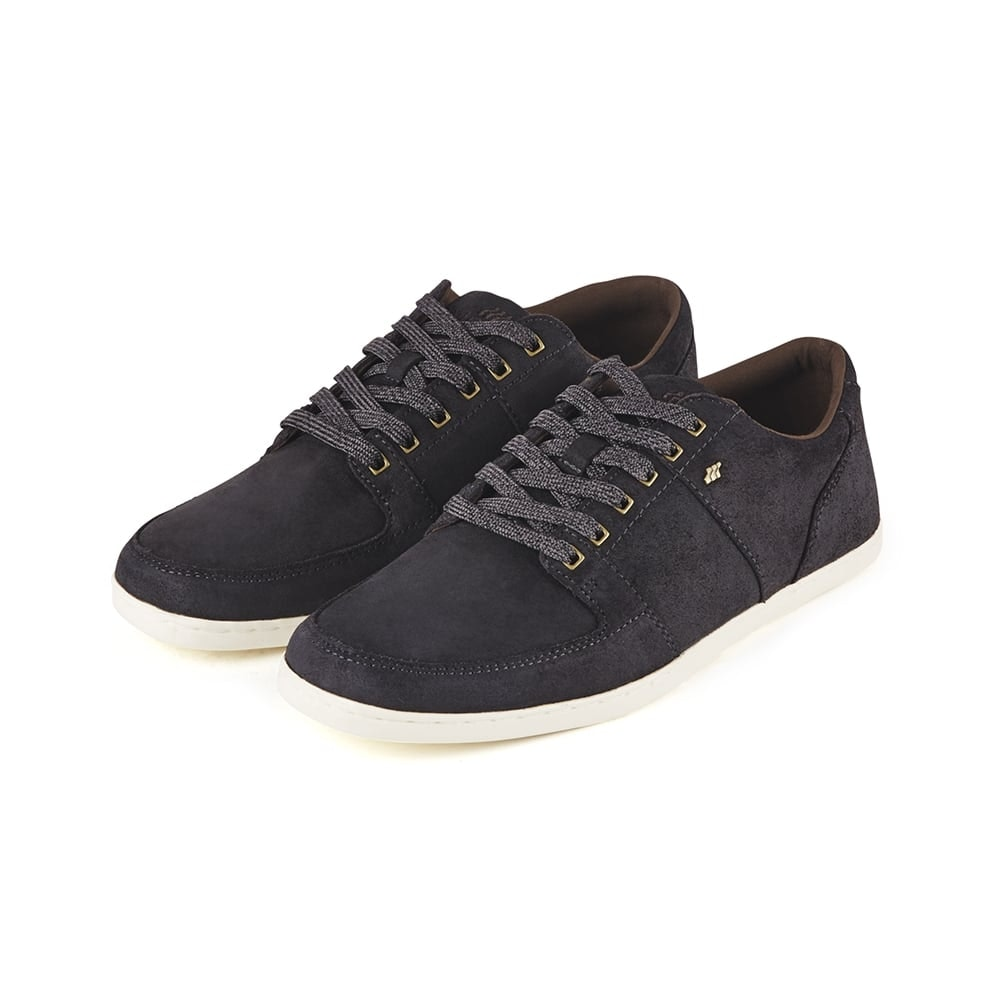 Boxfresh Leather Trainers Black