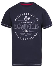 D555 Stoke Los Angeles Beach Printed T-Shirt