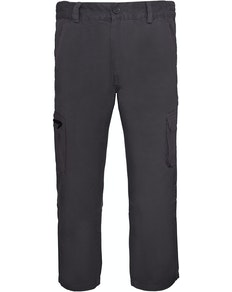 Bigdude Straight Fit Cargo Trousers Grey