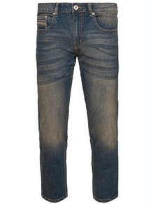Bigdude Stretch Pocket Detail Jeans Antique Wash