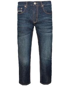 Bigdude Stretch Pocket Detail Jeans Dark Wash