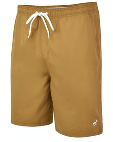 Bigdude Plain Swim Shorts Khaki