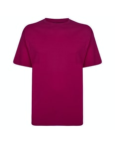 Espionage Plain T-Shirt Magenta
