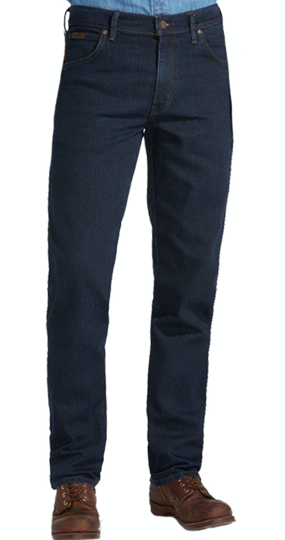 Wrangler Texas Stretch Dark Denim Jeans