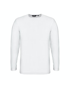 Bigdude Long Sleeve Thermal T-Shirt White Tall