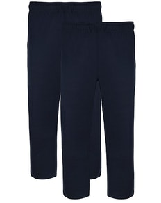 Bigdude Twin Pack Classic Pyjama Trousers Navy