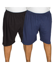 Kings Club Pyjama Shorts twin Pack Black/Navy