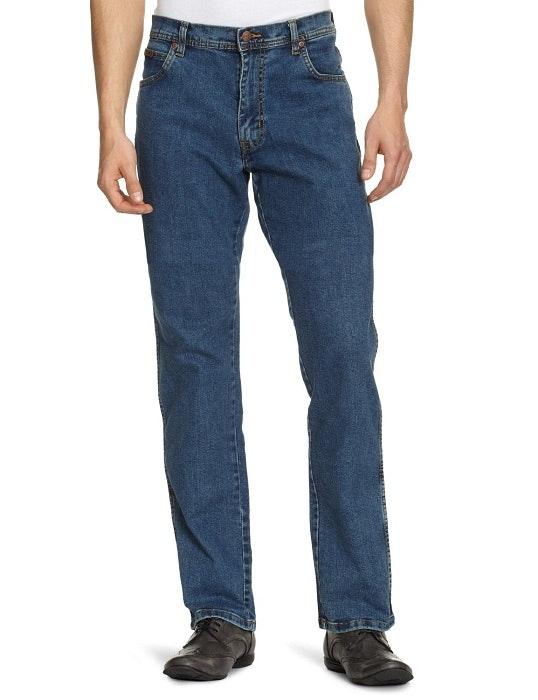 Wrangler Texas Stretch Stonewash Jeans Tall