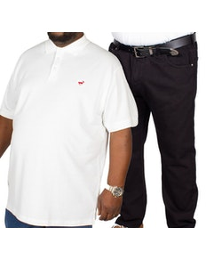 Bigdude Polo Shirt & Jeans Bundle 8