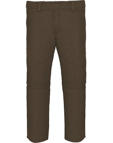 Bigdude Zip Off Walk Pants Khaki