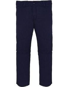 Bigdude Zip Off Walk Pants Navy